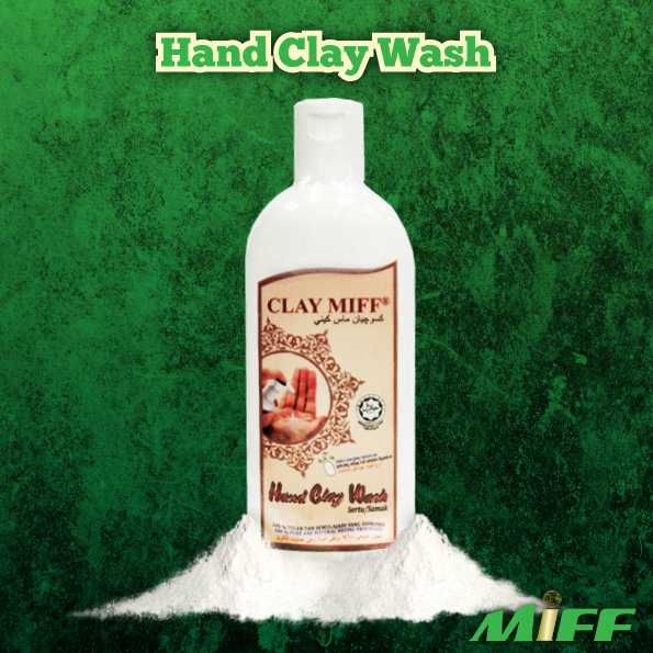 Claymiff Hand Clay Wash