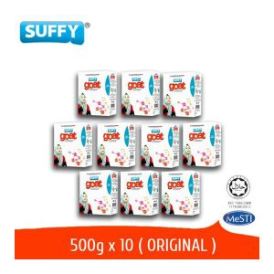 Suffy Susu Kambing Suffy Goat 500g Pek Combo 10 Unit